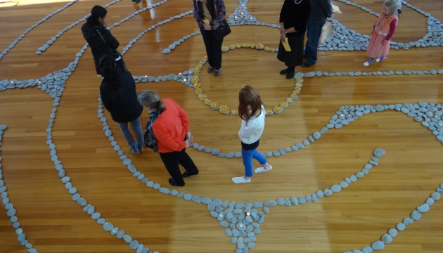The Labyrinth Prayer Walk we created in June was a different way for us to encounter God.